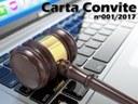 CARTA CONVITE - Aquisição de água mineral com e sem gás.