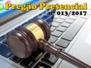 Pregão Presencial nº 013/2017
