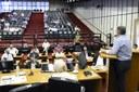 Vereadores participam de evento para a instalação do Parlamento Regional Metropolitano de Ribeirão Preto.